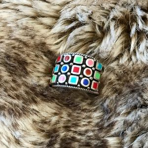 Harold Powell multi-colored ring